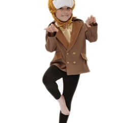 Children S Pop Up Chairs How To Paint Kitchen Table And Kids Boys Girls Fantastic Mr Fox Fancy Dress Costume Roald Dahl